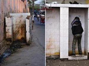 印7亿人无厕所可用 女性都得在户外上厕所