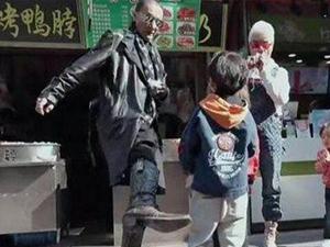 谢贤节目怒踹小孩 出言不逊大喝是吃货令人