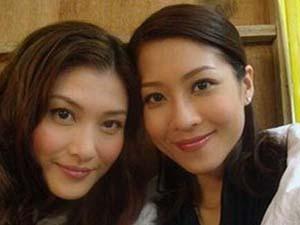 周丽淇陈敏之对比照 犹如双生姐妹难以辨认