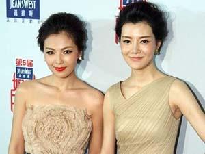 刘涛与车晓同框太尴尬 励志女神被秒成路人