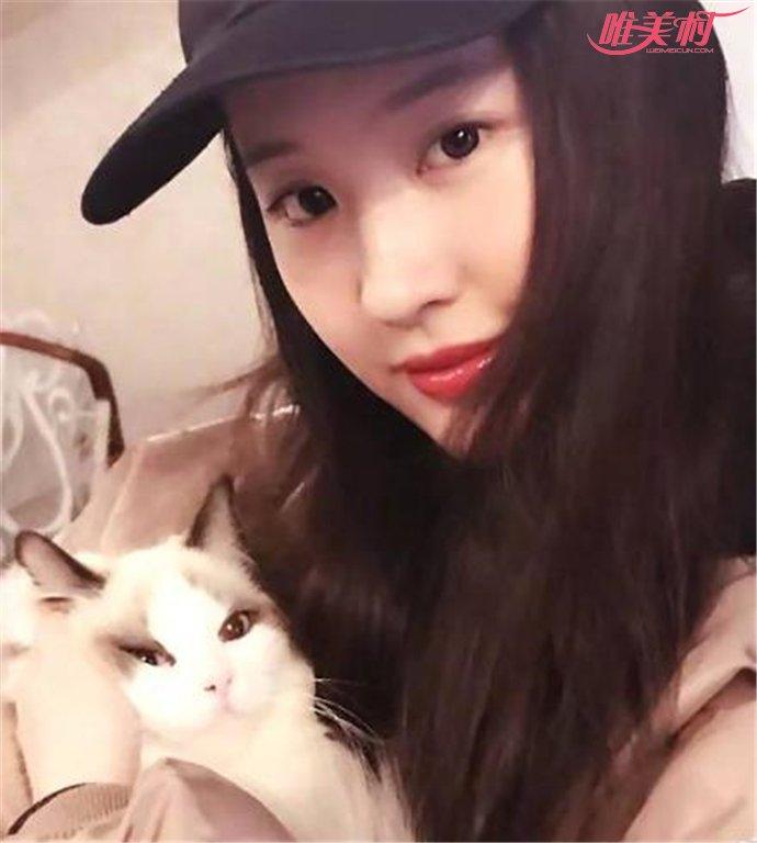 刘亦菲实力宠猫
