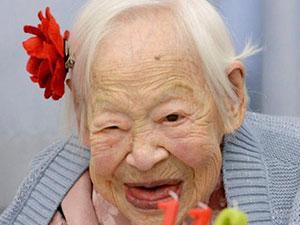 大川美佐绪年轻时照片 跨越三个世纪美人的长寿秘诀