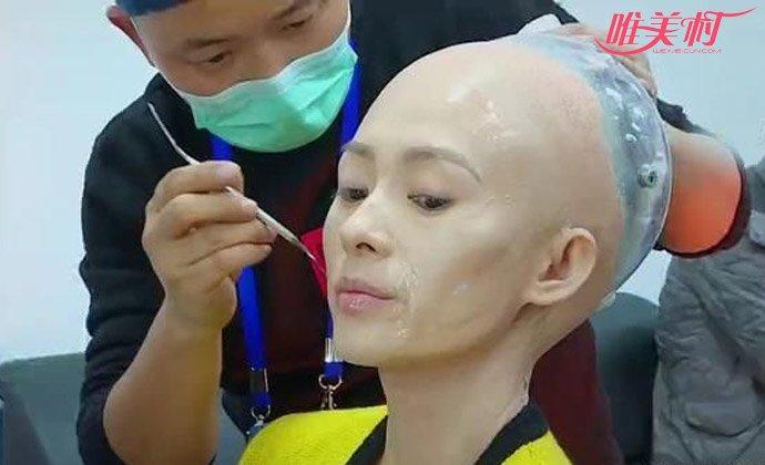 章子怡光头造型超吸睛 劣质版机械姬像个骷髅气哭国际章【图】 - 明星 - 唯美村