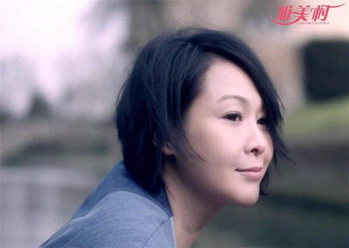 刘若英拍戏脸部冻伤