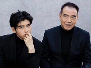 陈凯歌和儿子罕见同框照 陈凯歌儿子竟然也