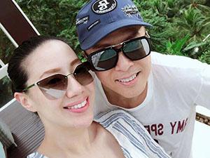 甄子丹一家四口海岛度假 与小18岁娇妻有夫