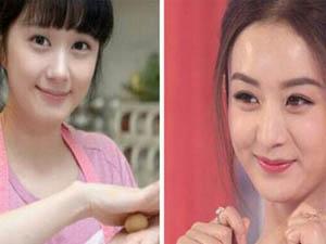 张娜拉和赵丽颖对比照 同脸不同命对比下颖