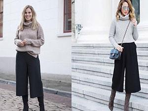 高腰阔腿裤如何搭配上衣 这几种巧妙搭配方式尽显魅力