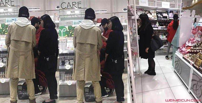范冰冰现身药妆店