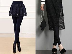 蕾丝打底裤搭配什么鞋子 3种潮流搭配让你穿出时尚