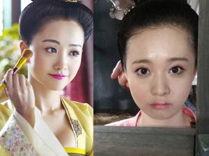 高雨儿和杨蓉好像 两人相似度很高被传是亲