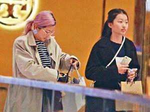 陈奕迅13岁女儿近照 陈奕迅自曝喜欢徐濠萦