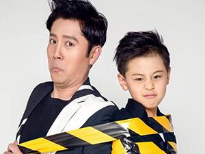 蔡国庆晒与儿子同框照 两人长相相似令人傻
