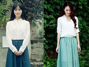 棉麻长裙搭配什么上衣 3种时尚搭配让你穿出