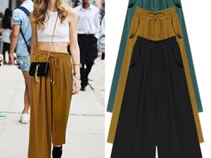 阔腿裤要如何搭配 减龄又时尚的穿衣法则你值得拥有