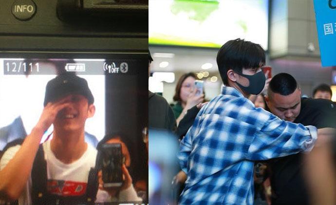 吴磊宋威龙在机场被错认