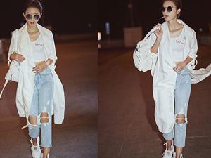 破洞牛仔裤怎么搭配 时尚单品妙搭让衣品颜值UP