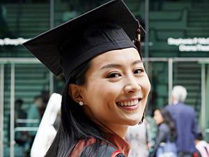 陈法拉当红息影读书 现硕士毕业欲要进军好莱坞
