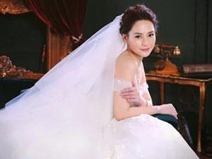 阿娇婚礼婚纱 与赖弘国婚礼地址被曝光婚纱