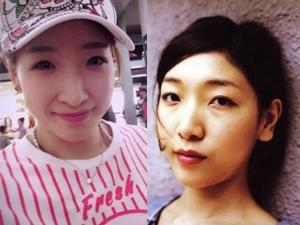 安藤樱和刘诗雯对比照 影后与乒乓女神实力