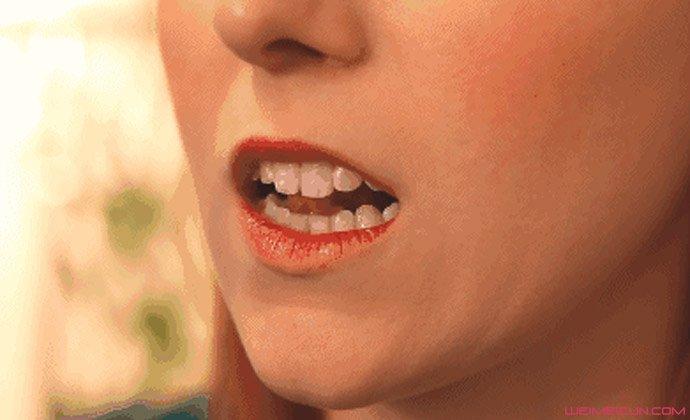 咬到舌头诱发癌症