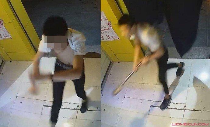 学生打砸成人用品店