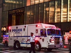 纽约大厦不明包裹 事件始末曝光竟然是虚惊