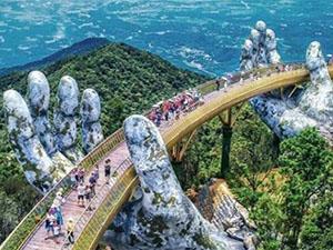 越南佛手桥成网红 游客必去景点详解让人目