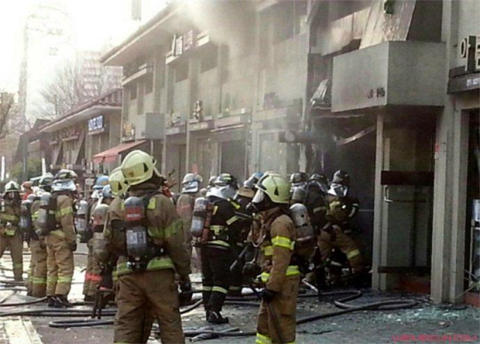 瓦斯爆炸被炸伤