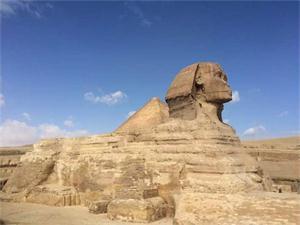埃及新狮身人面像 狮身人面像竟然长这样难以置信