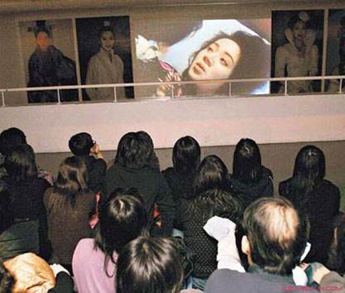 梅艳芳葬礼诡异照片 梅艳芳最后死去的图片竟是这个样子(原创)