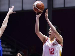 中国女篮大胜泰国 赢近70分取得雅加达亚运会开门红
