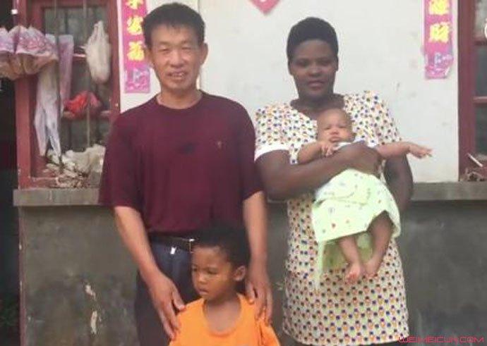 农民大叔娶非洲女