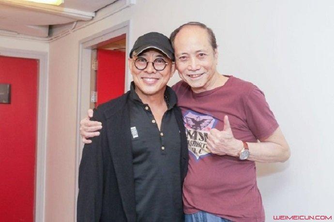 55岁李连杰回春
