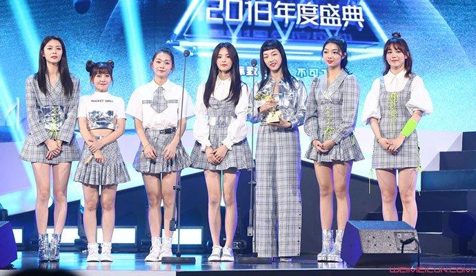 火箭少女101成员简介_众多人气歌手齐聚盛典场面非常的热闹,而火箭少女101也在其中,在此次