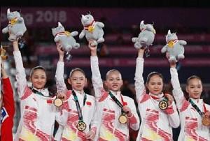 中国体操女团冠军 揭中国女子体操队这些骄