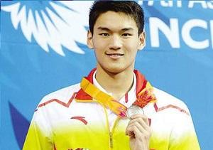 徐嘉余仰泳冠军 中国仰泳之星将继续前进