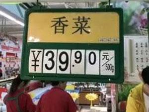 寿光香菜每斤40元 寿光香菜为什么这么贵揭