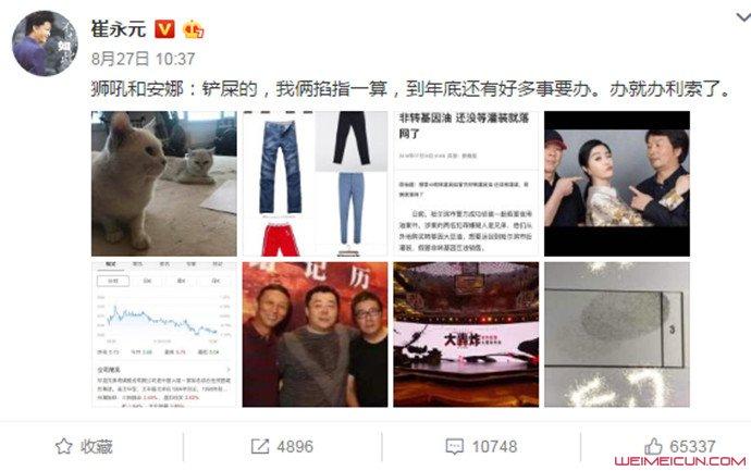 [深水娱]崔永元为什么被禁言 微博遭禁言原因被揭竟是如此【图】