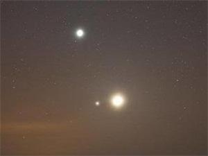 最亮金星21日闪亮 竟能照出人的影子灿若宝