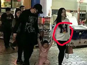 李小璐带女儿购物被拍 李小璐怀二胎是真的吗