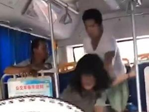 公交事件双方为夫妻 还原女生公交遭猥亵无