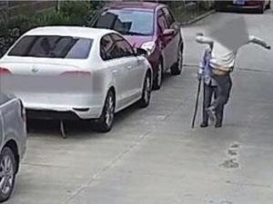 殴打老人男子被捕怎么回事 做出如此恶行引
