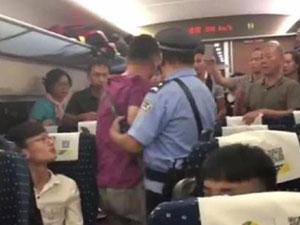 南宁铁路局回应 回顾霸座男对原座位乘客动粗具体详情