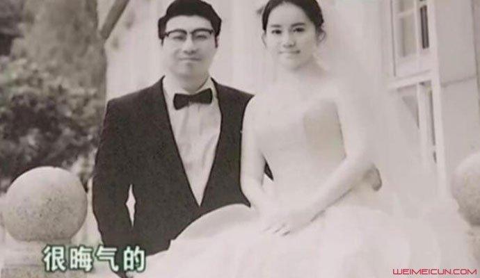 小两口收黑白婚纱照