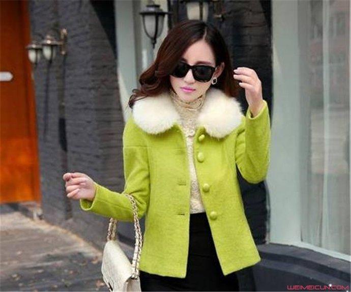 冬季外套搭配