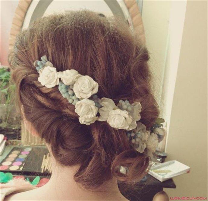 新娘发型款式