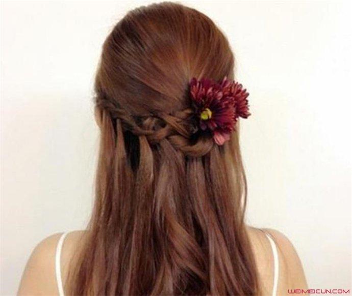 流行的新娘发型