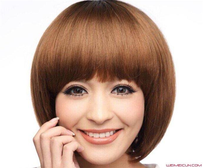 脸大的女生适合什么发型