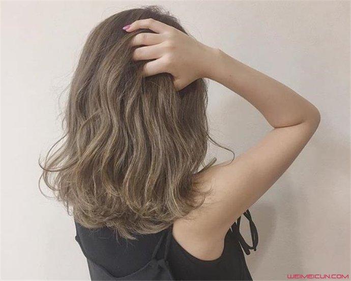 流行中短发